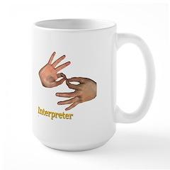 Male Interpreter Mug