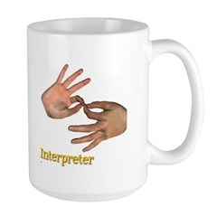 Male Interpreter Mug