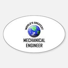 World's Greatest MECHANICAL ENGINEER Decal