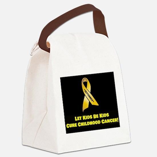 September Ribbon Canvas Lunch Bag