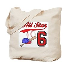 AllStar Baseball 2nd Birthday Tote Bag