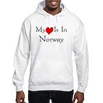 My Heart Is In Norway Hooded Sweatshirt