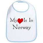 My Heart Is In Norway Bib