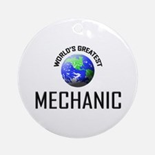 World's Greatest MECHANIC Ornament (Round)