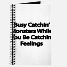 Busy catching Monsters Journal