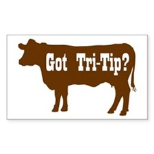 Got Tri-Tip Rectangle Decal