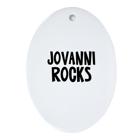 Jovanni Rocks Oval Ornament