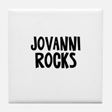 Jovanni Rocks Tile Coaster