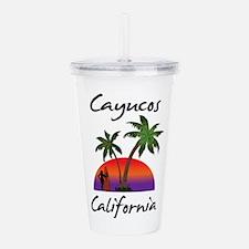 Cayucos California Acrylic Double-wall Tumbler