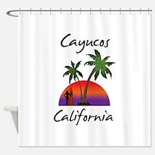 Cayucos California Shower Curtain