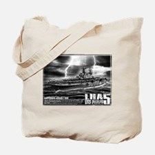 Amphibious assault ship Peleliu Tote Bag
