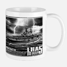 Amphibious assault ship Peleliu Mugs