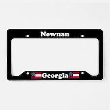Newnan, GA License Plate Holder