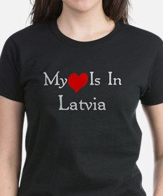 My Heart Is In Latvia Tee