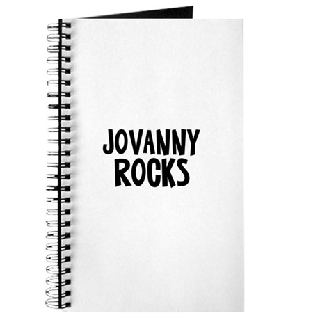Jovanny Rocks Journal