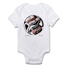 Eagle Raven Yin-Yang Infant Bodysuit