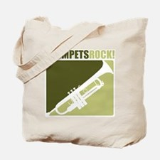 Trumpets Rock Tote Bag