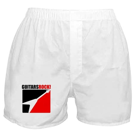 Guitars Rock Boxer Shorts