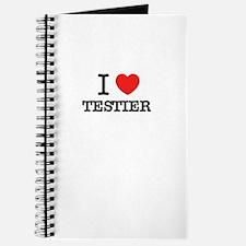 I Love TESTIER Journal