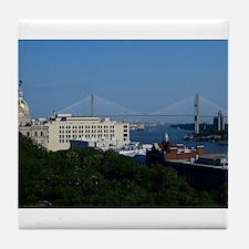 Savannah View Tile Coaster