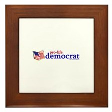Cute Abortion Framed Tile