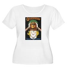 Cafiaspirina Vintage Poster T-Shirt