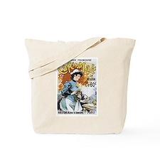 Cafe Malt Vintage Ad Tote Bag