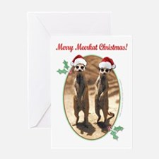 Merry Meerkat Christmas! Greeting Card