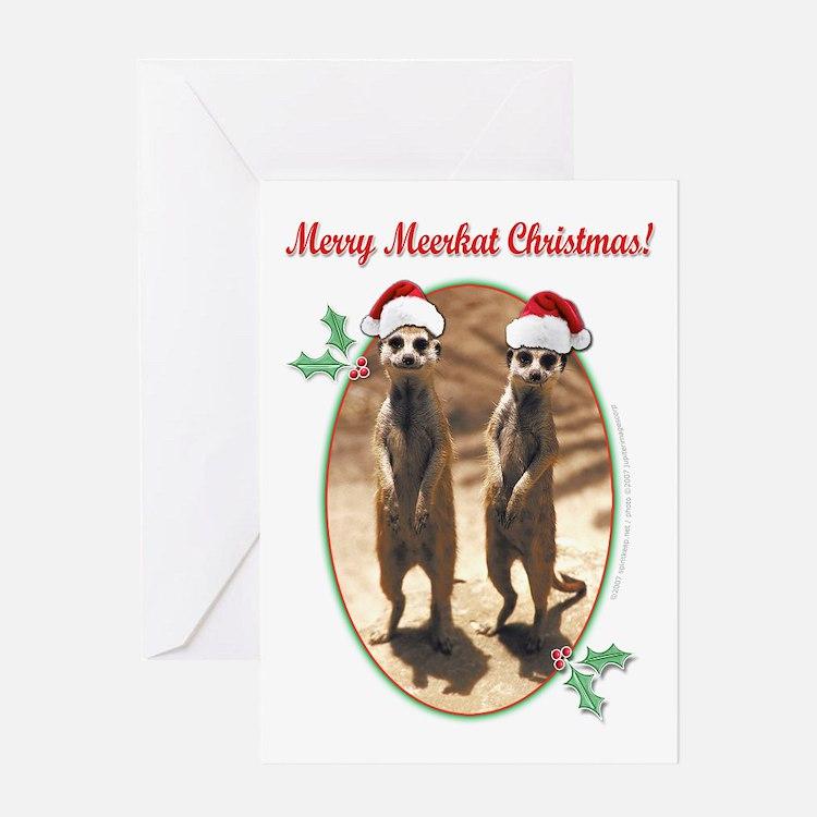 Merry Meerkat Christmas! Greeting Card