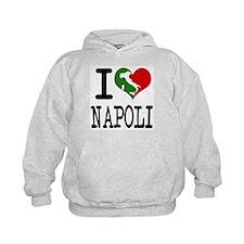 I Love Napoli Italian Hoodie