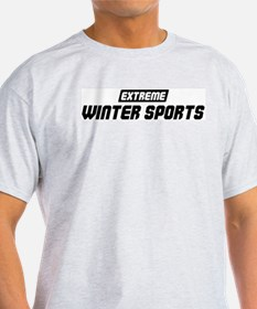 Extreme Winter Sports T-Shirt