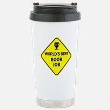 Cute Breasts Travel Mug