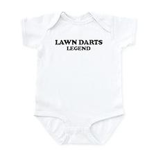 LAWN DARTS Legend Infant Bodysuit