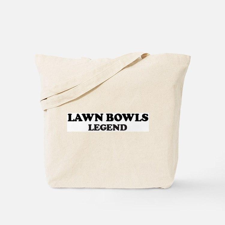 LAWN BOWLS Legend Tote Bag