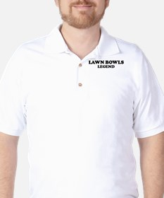 LAWN BOWLS Legend Golf Shirt