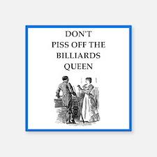 billiards Sticker