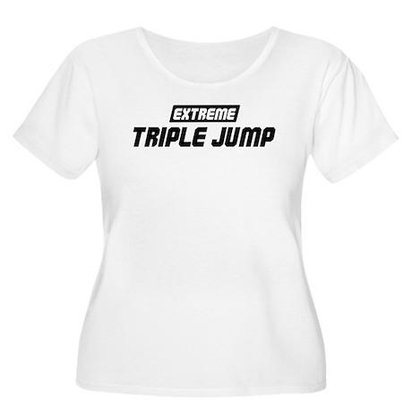 Extreme Triple Jump Women's Plus Size Scoop Neck T