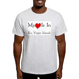 My Heart Is In U.s. Virgin Is T-Shirt