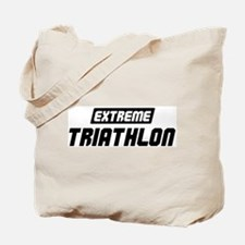 Extreme Triathlon Tote Bag
