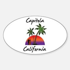 Capitola California Decal
