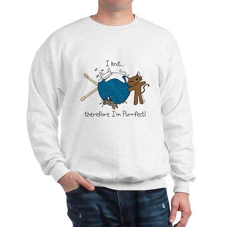 I knit ...purrfect Sweatshirt