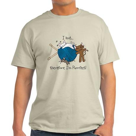 I knit ...purrfect Light T-Shirt