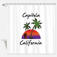 Capitola California Shower Curtain