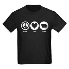 Peace Love Iowa T