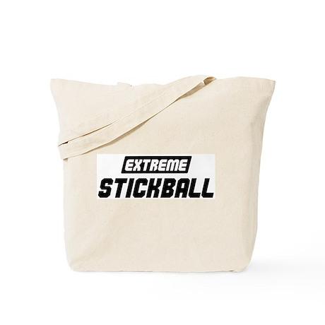 Extreme Stickball Tote Bag