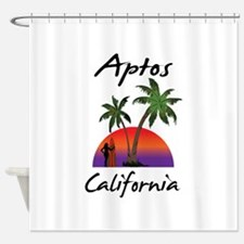 Aptos California Shower Curtain