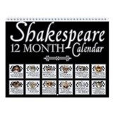 Shakespeare Wall Calendars