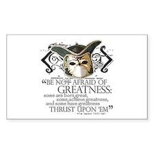 Twelfth Night 2 Sticker (Rectangular)