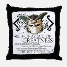 Twelfth Night 2 Throw Pillow