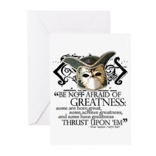 Twelfth Night 2 Greeting Cards (Pk of 20)